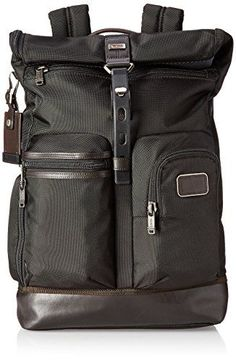 Tumi Alpha Bravo Luke Roll-Top Backpack, Hickory, One Size *** Click on the image for additional details.