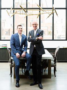 Interior Designers Jamie Drake and Caleb Anderson merge as Drake + Anderson, via @sarahsarna.