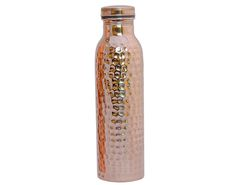 Copper is an essential trace mineral necessary for survival. Copper helps with the formation of collagen, increases the absorption of iron and plays a role in energy production. It can kill all the microorganisms (molds, fungi, algae and bacteria) present in the water that could be harmful to the body and make the water perfectly fit for drinking. Store Water in copper water bottle preferably overnight or at least for four hours acquires a certain quality from the copper.