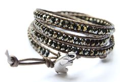 Sasa Designs by the Deaf - Kenyan Elephant 4X Wrap Bracelet