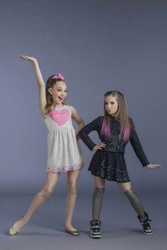 ♡ On Pinterest @ kitkatlovekesha ♡ ♡ Pin: TV Show ~ Dance Moms ~ Maddie & Mackenzie ♡
