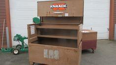 Knaack Model Watchman 111 Tool Cabinet Used #Knaack