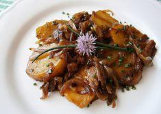 Na obrázku môže byť: jedlo Japchae, Pork, Meat, Chicken, Ethnic Recipes, Kale Stir Fry, Pork Chops, Cubs