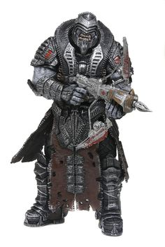 Gears of War 3 - The Theron Elite aka The Onyx Theron