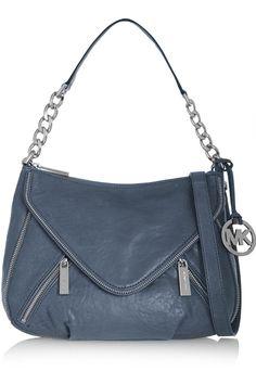 f1588bb6ba74 Textured-leather shoulder bag