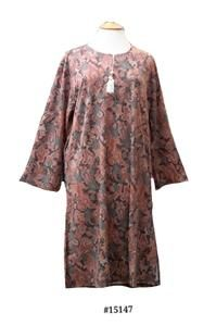12055bf3098 15147 Ladies Super Soft   Warm Korean Viscose Knit Long Sleeve Night Dress Lounge  Wear. 10