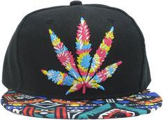 7100760ae38 Amazon.com   Cool Kings Hip Pop Marijuana Weed Green Snapback Cap Hat Men  Baseball Cap   Sports   Outdoors