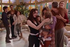 Very last episode, season 8 Serie Charmed, Charmed Tv Show, Charmed Season 8, Chris Halliwell, Phoebe And Cole, Davina Claire, Abc Shows, Shannen Doherty, Black Magic Woman