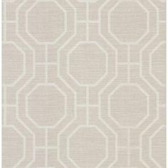 Brewster 56 sq. ft. Geometric Wallpaper - Model # 282-64053 at The Home Depot