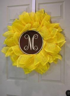 Sunflower Medallion Wreath – MilandDil Designs