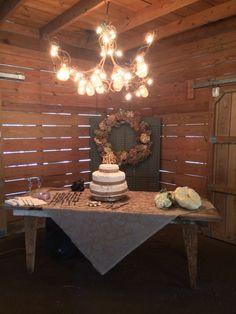 Rustic wedding decor by OriginalGraceEvents.com