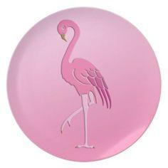 Pretty pink flamingo