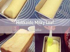 Resep Hokkaido Milk Bread favorit. Membuat roti tawar sendiri selain lebih sehat, rasanya juga lebih enak. Hokkaido milk bread adalah japanese style bread yg menggunakan whipped cream di adonannya. Menghasilkan roti yg sangat lembut dgn tekstur serat yg halus. Resep saya ambil dr internet
