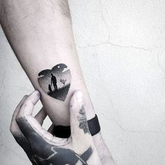 Mom and child earth tat
