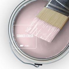 For the ultimate in durability and beauty on virtually any exterior surface, choose BEHR MARQUEE Satin Enamel Exterior Paint. Featuring the most advanced dirt and fade technology available from BEHR that Pink Paint Colors, Paint Colors For Home, House Colors, Nursery Paint Colors, Behr Paint Colors, Vintage Paint Colors, Indoor Paint Colors, Best Bedroom Colors, Living Room Paint Colors