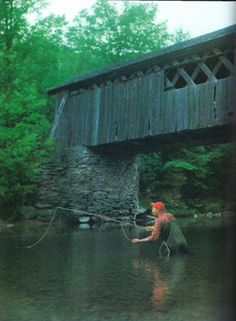 Classic New England fly fishing
