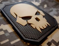 PIRATE SKULL 3D PVC TACTICAL MILITARY BADGE US ARMY MORALE SWAT VELCRO PATCH