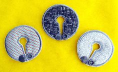 Grey Belly Dots Button Cover Set for GTube JTube by aHaDesigns2, $5.00