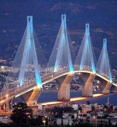 Rio - Antirio Bridge, Achaia, Peloponnese, Greece