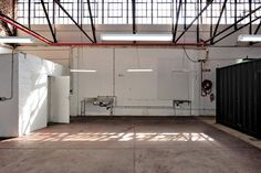 The renovation of a large industrial shed tucked away in Pretoria's CBD was carried out with a very light touch, providing amenities for its use as an events space while maintaining the integrity of the industrial fabric.