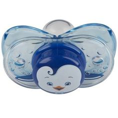 @Overstock - Dirty pacifiers are a thing of the past with the Keep-it-Kleen Pacifier from RazBaby. This adorable pacifier features a self closing shield that closes when the pacifier is dropped.http://www.overstock.com/Baby/RazBaby-Keep-it-Kleen-Ethan-Penguin-Pacifier/6021673/product.html?CID=214117 $7.24