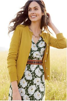Yes - this is Lands' End! #Floral #Dress