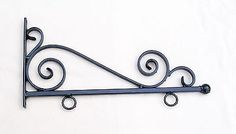 WROUGHT IRON SIGN BRACKET in Home, Furniture & DIY, Home Decor, Plaques & Signs | eBay