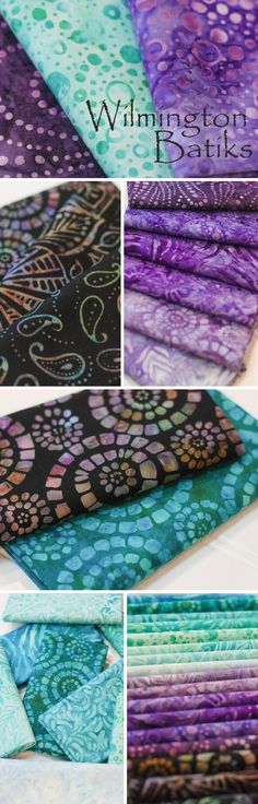 Wilmington Batiks by Wilmington Prints is a beautiful batik fabric collection available at Shabby Fabrics!