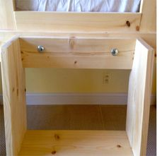 HOME DZINE Home DIY | DIY loft bed playhouse or clubhouse