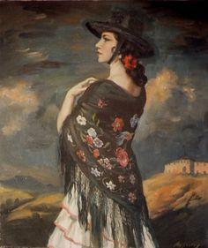"""George Owen Wynne Apperley, """"La Torera"""""""