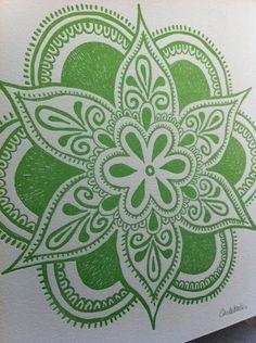 Green henna Idea