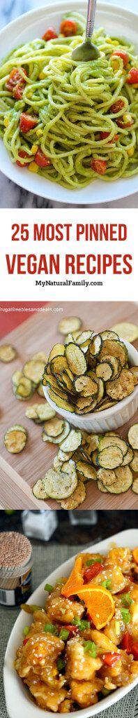 25 Most Pinned Vegan Recipes