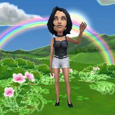 Adoro meu #AvatarZynga! Visite o Zynga.com para criar o seu.