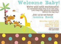 Invitación · Boy Baby ShowersBoy Baby Shower ThemesFisher PriceBaby ...