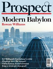 Prospect's editor Bronwen Maddox ties together the May issue