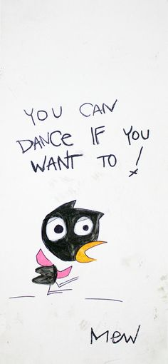 You Can Dance (White) by Matthew E. Weinberg (MEW) art painting