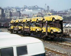 Traritrara, die (Schnecken-)Post ist da. Der Offs 55 631 982 im April 1964 im Stuttgarter Hgbf. --- DB --Germany
