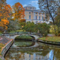fall in Pavlovsk