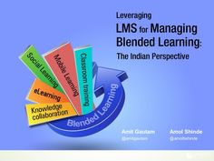 Leveraging LMS for Managing Blended Learning : The Indian Perspective - Find Tips & Tricks for managing Blended Learning effectively through an LMS especially in the Indian Corporate L Space.