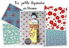Tutoriel de la petite Japonaise en kimono