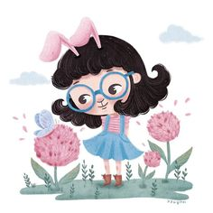 Hurry up!! Spring!! 빨리와 빨리- . . . #illustration #kidsillustration #childrensillustration #cute #spring #bunny #rabbit #artist #character #procreate #drawing #illustrator #jjlynndesign #일러스트 #그림 #제이제이린 #토끼소녀 #동화일러스트 #캐릭터 #드로잉 #봄 #꽃 #토끼 #소녀