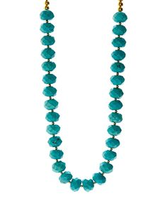 Look at this Turquoise Rope Necklace on #zulily today!