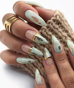 Beautiful Manicure Nails For Short Nails Design Ideas -Square & Almond Nails - Short nails design, short acrylic nails, short square nails, short coffin nails, short almond nails - Nail Manicure, Gel Nails, Manicures, Nail Polishes, Coffin Nails Designs Summer, Short Square Nails, Short Nails, Nagel Bling, Gel Nagel Design