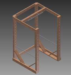 DIY – Bench Press Cage / Pull-Up Bar