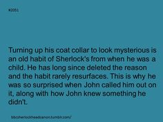 Sherlock Head Canon: Photo