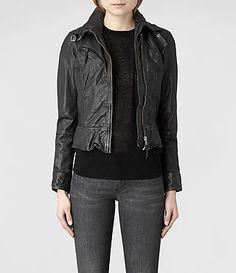 AllSaints Belvedere Jacket | Womens Leather Jackets