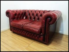 Oxblood Chesterfield