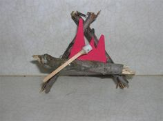 Cute idea! Good use for all those sticks the girls want to collect during a camping trip!