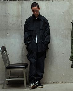 """WTAPS unveils clean """"MILL"""" Series for Spring/Summer 2019 with collection in olive and black featuring tees, jacket and trousers Japan Men Fashion, Mens Fashion, Skate Boy, Japan Outfit, Minimal Outfit, Dress Cake, College Fashion, Diy Clothes, Fashion Brands"""