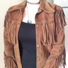 Vintage Suede Jacket  Please feel free to ask any questions about this item before you purchase.  this is the lowest I will take right now. Vintage  Jackets & Coats